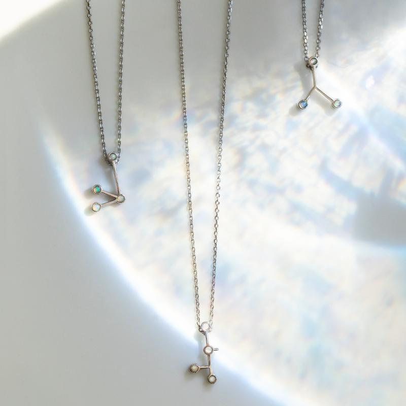 naszyjnik-srebrny-z-opalami-strzelec-zodiak