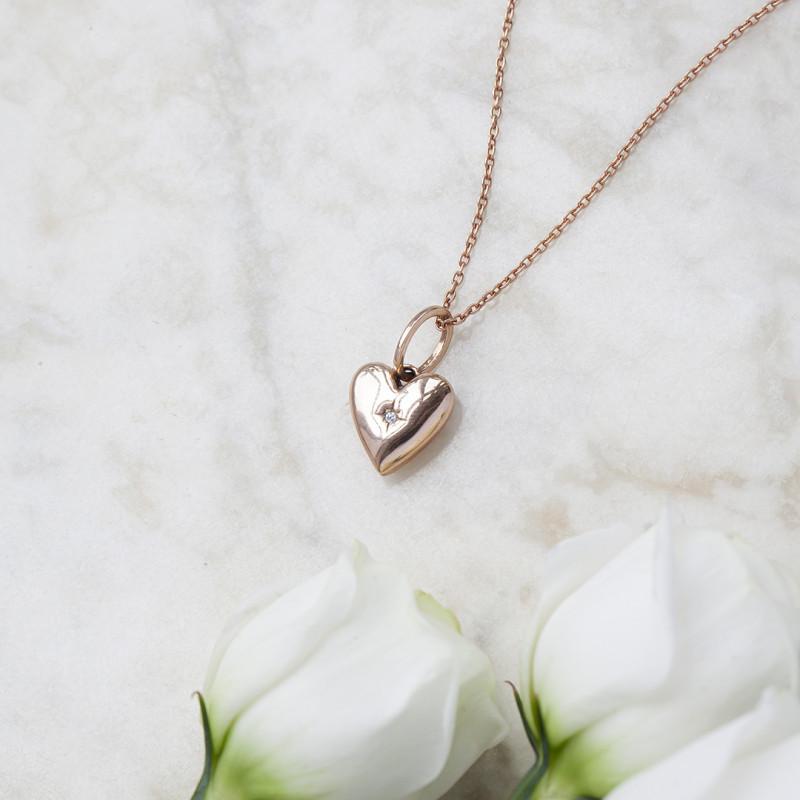 naszyjnik-srebrny-pokryty-różowym-złotem-z-diamentem-beloved