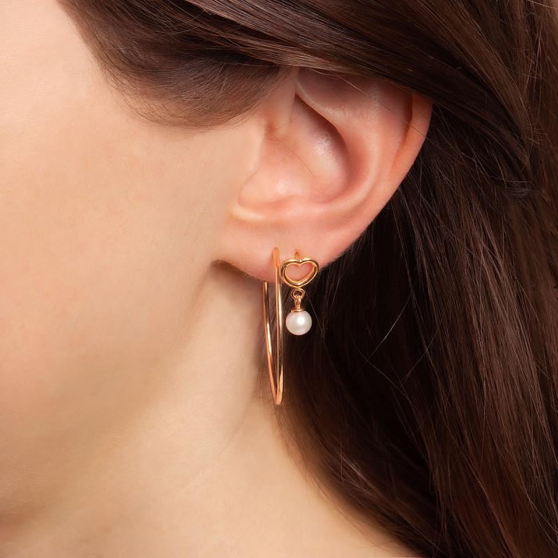 kolczyki-pozłacane-z-perłami-serce-pearls-