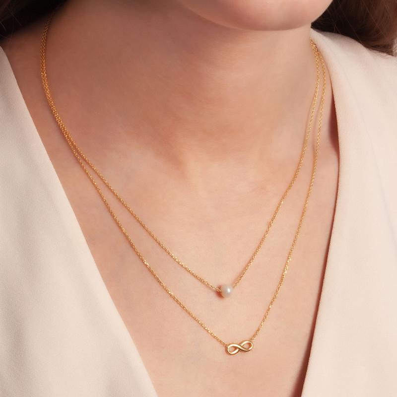 naszyjnik-pozłacany-z-perłą-nieskończoność-pearls-