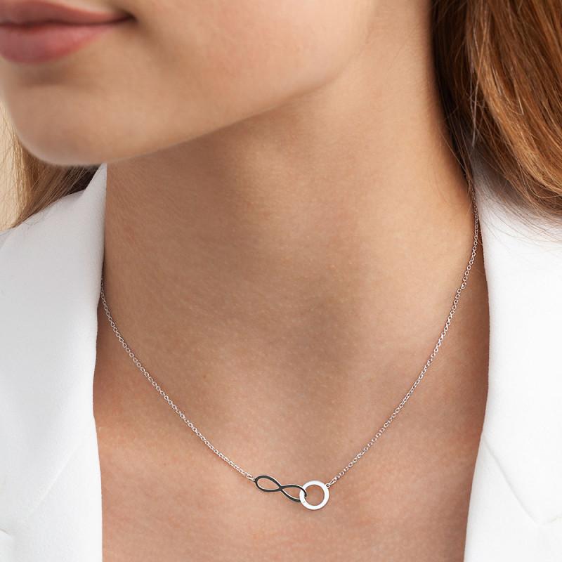 naszyjnik-srebrny-nieskończoność-simple-