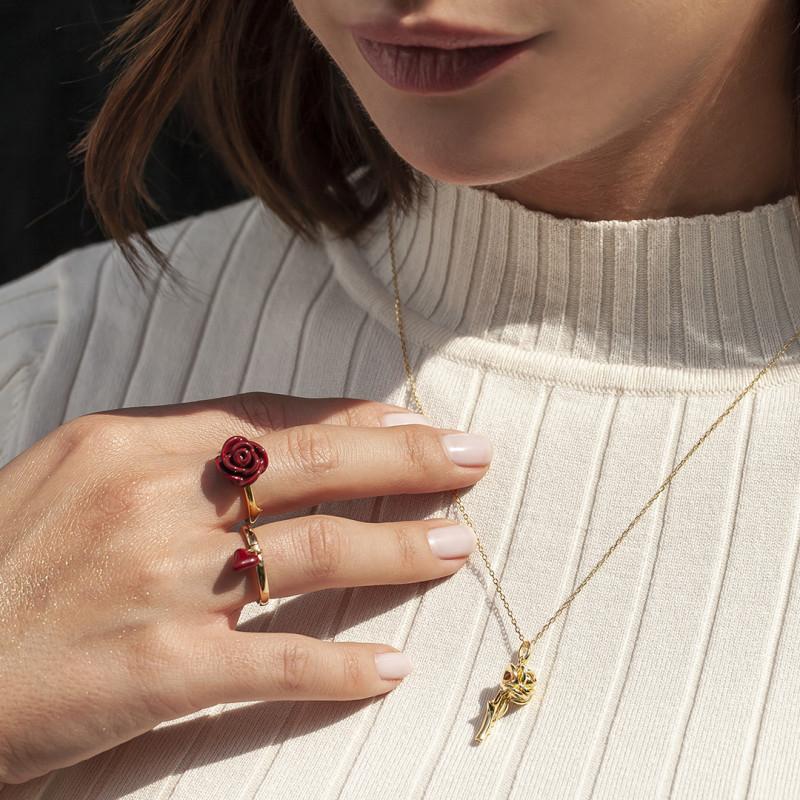 pierścionek-pozłacany-z-emalią-róża-rosarium-