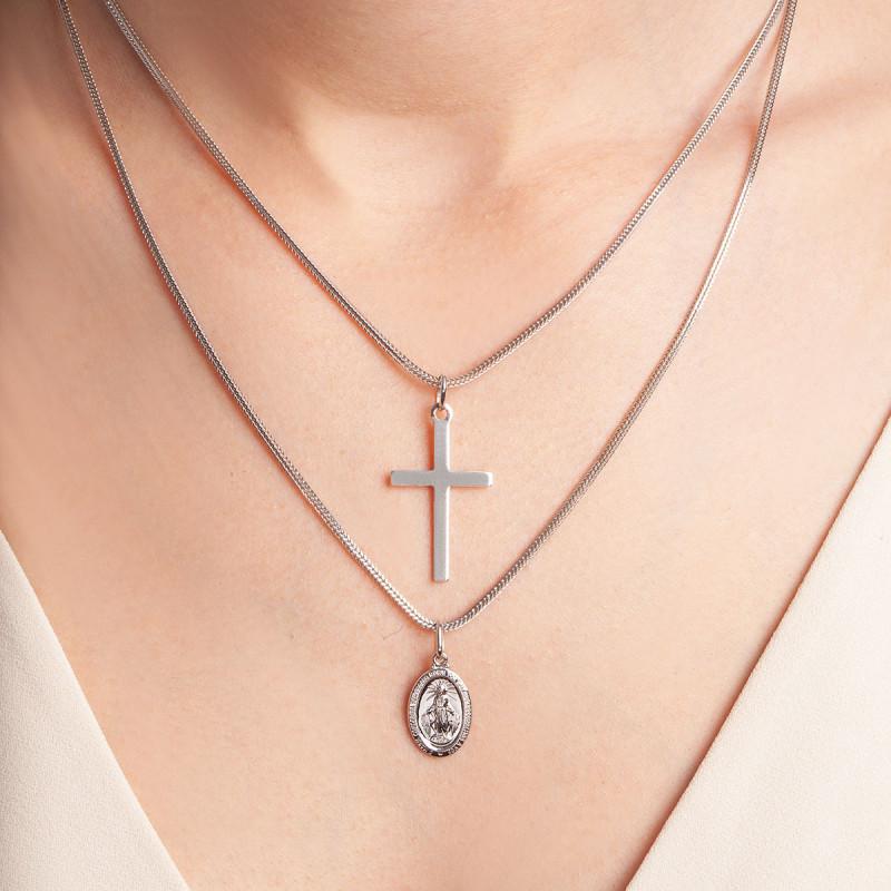 zawieszka-srebrna-krzyżyk
