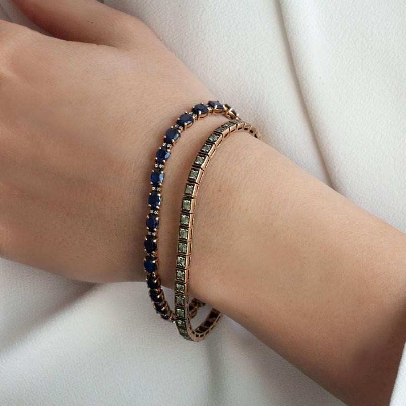 bransoletka-złota-z-szafirami-kolekcja-wiktoriańska