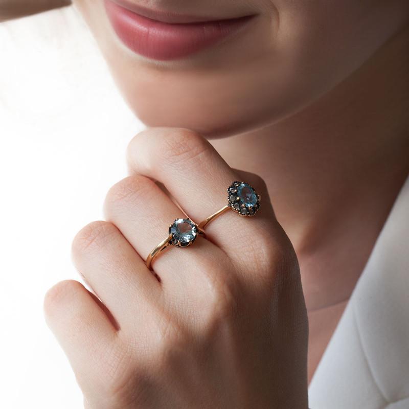 pierścionek-złoty-z-akwamarynem-kolekcja-wiktoriańska