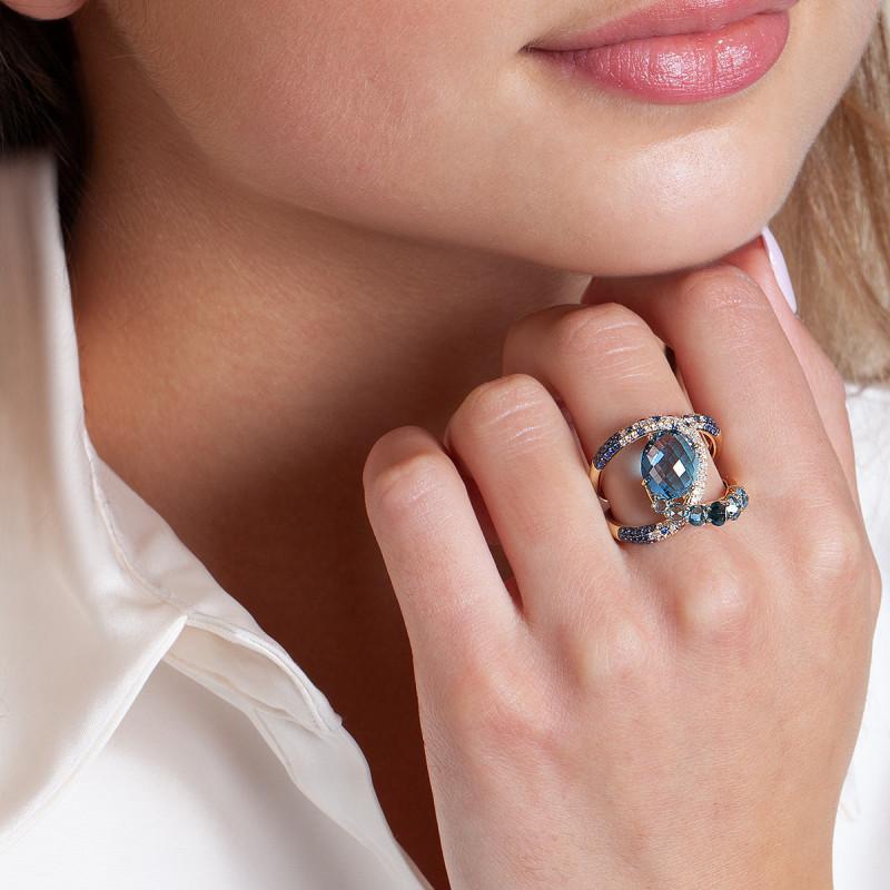 pierścionek-złoty-z-diamentami,-szafirami-i-topazami
