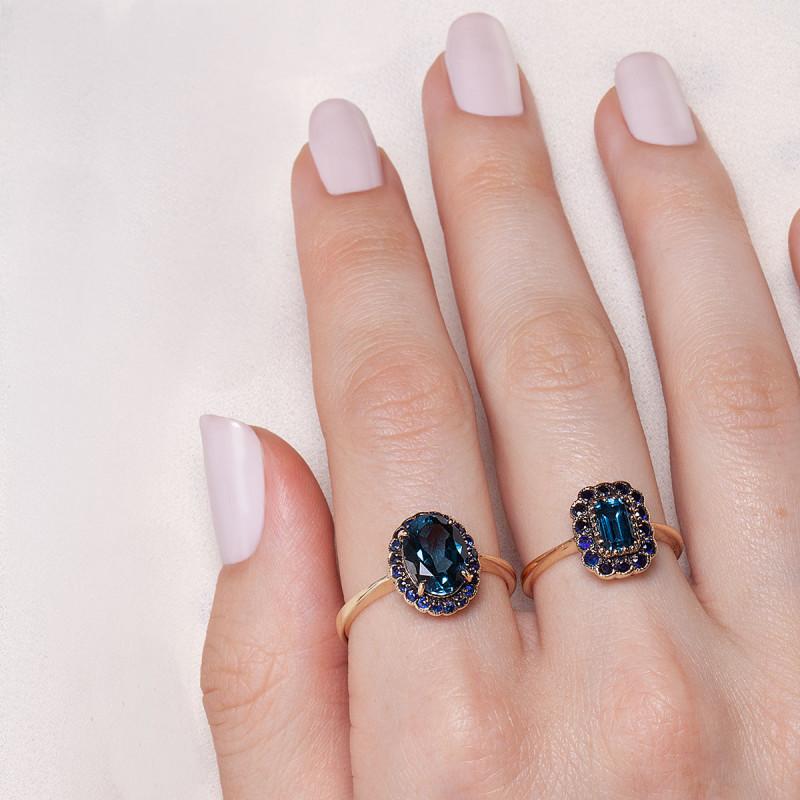 pierścionek-złoty-z-szafirami-i-topazem-kolekcja-wiktoriańska