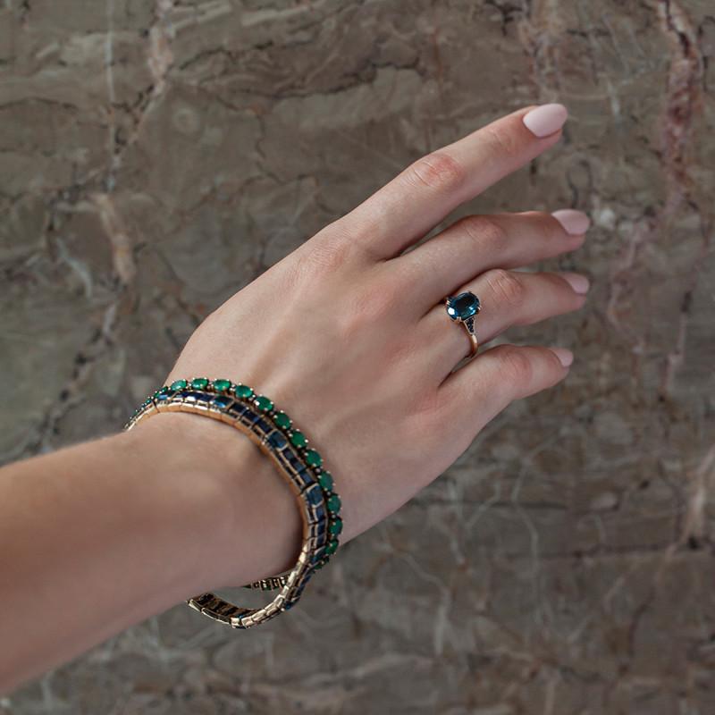 kolekcja-wiktoriańska-bransoletka-złota-z-diamentami-i-szmaragdami