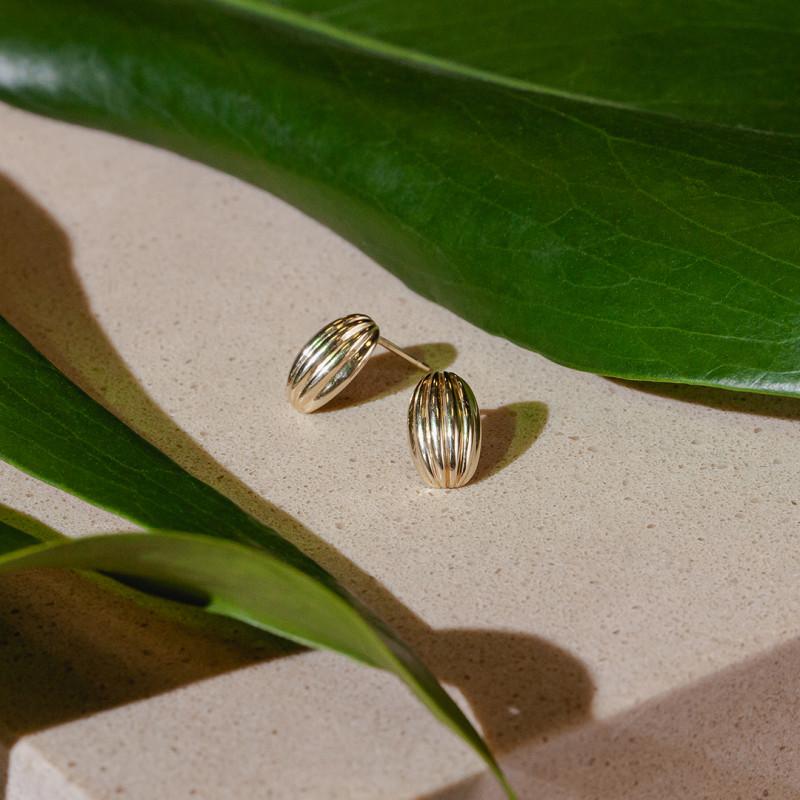 kolczyki-złote-botanica