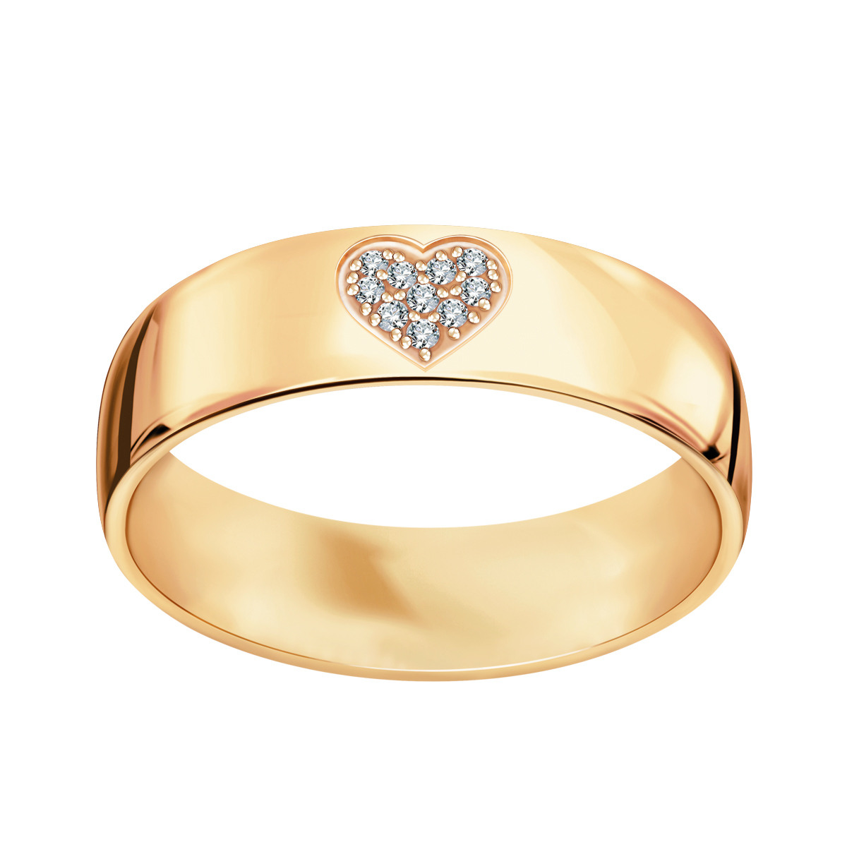 b2e02d1fff Złota obrączka z diamentami (151D - 34969)