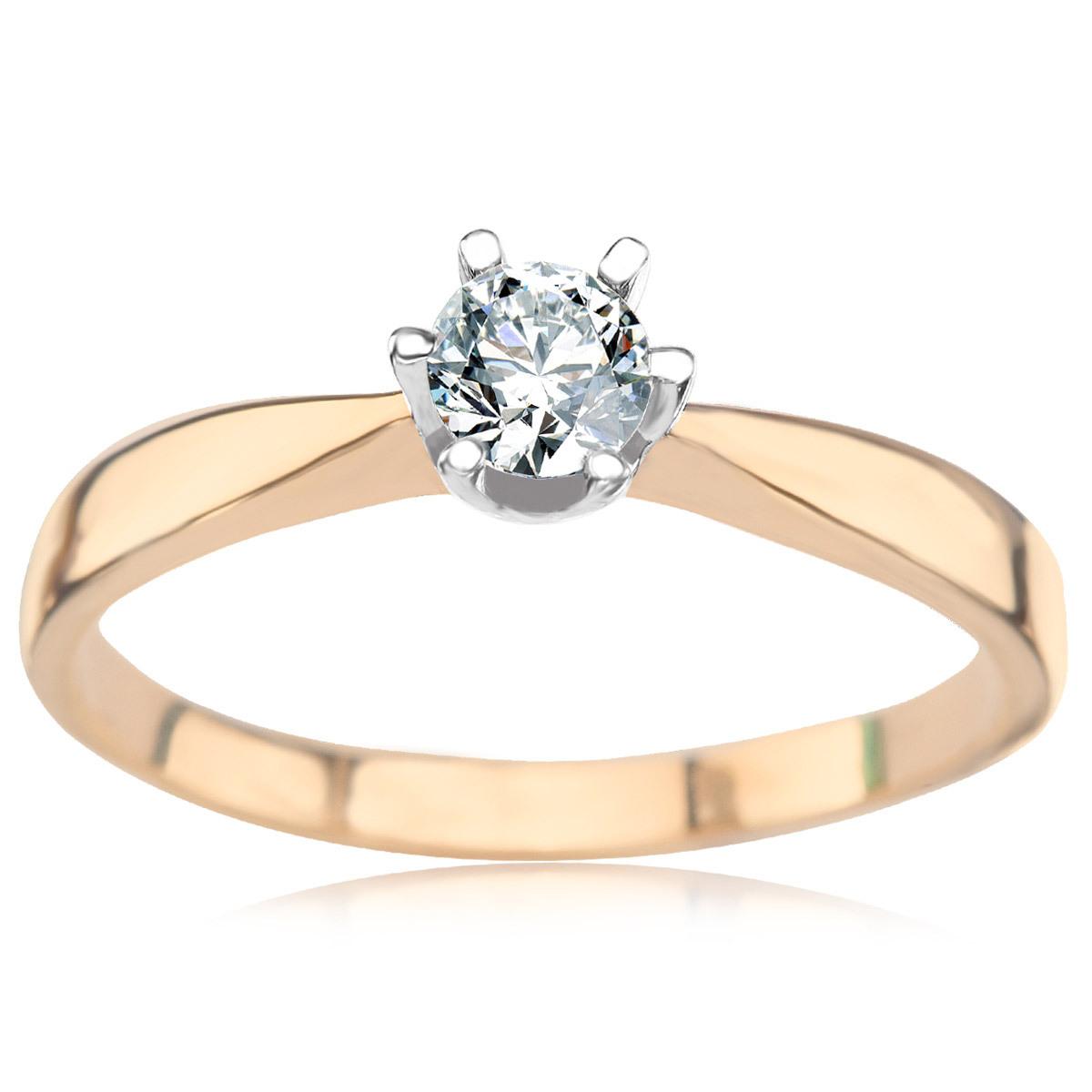 cec09aff0a19f3 Złoty pierścionek (XEB0214 - 41408)