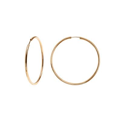 kolczyki-srebrne-pokryte-złotem-koła-simple-1