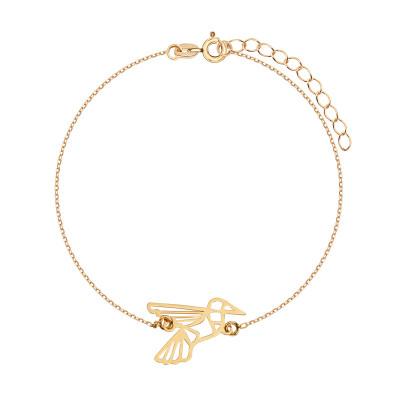 bransoletka-pozłacana-ptak-1