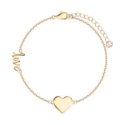 bransoletka-srebrna-pokryta-złotem-serce-simple--1