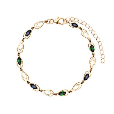 bransoletka-pozłacana-z-kryształami-swarovskiego-pavoni-1