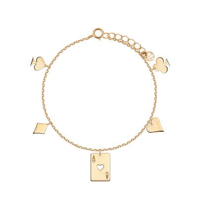 bransoletka-pozłacana-chains-1