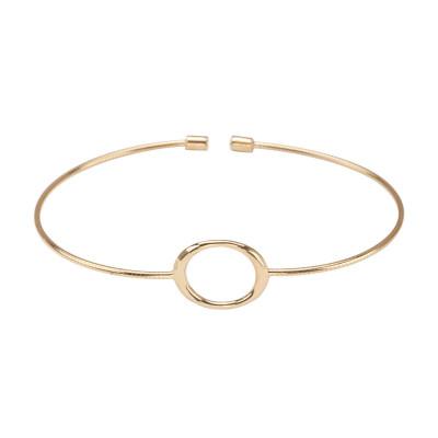 geometric-bransoletka-srebrna-pokryta-złotem-1