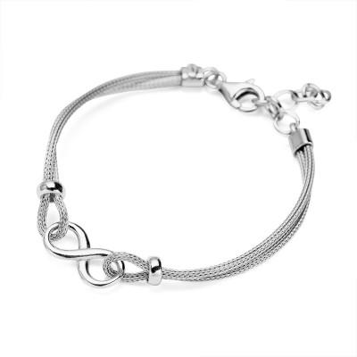 bransoletka-srebrna-nieskończoność-gloss-1