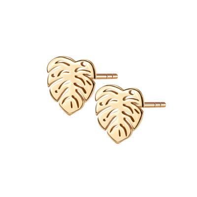 kolczyki-srebrne-pokryte-złotem-liście-hippie-1