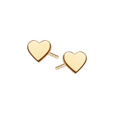 kolczyki-pozłacane-serce-simple--1