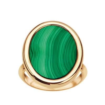 pierścionek-pozłacany-z-malachitem-medaliony-1