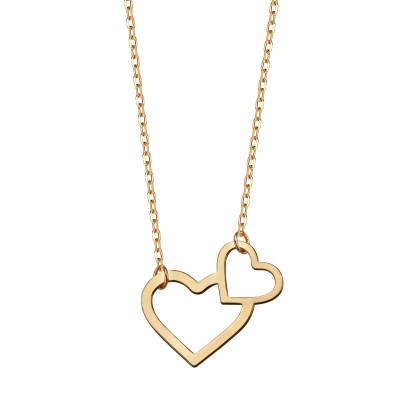 naszyjnik-pozłacany-serce-1