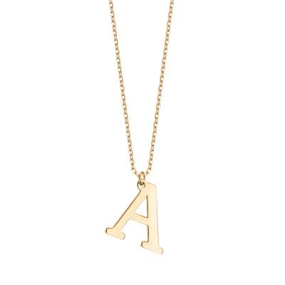 naszyjnik-srebrny-pokryty-złotem-litera-a-1