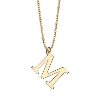 naszyjnik-srebrny-pokryty-złotem-litera-m-1