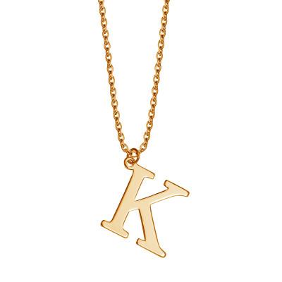 naszyjnik-srebrny-pokryty-złotem-litera-k-1