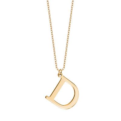 naszyjnik-srebrny-pokryty-złotem-litera-d-1