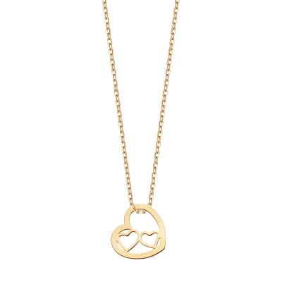 naszyjnik-srebrny-pokryty-złotem-serce-1