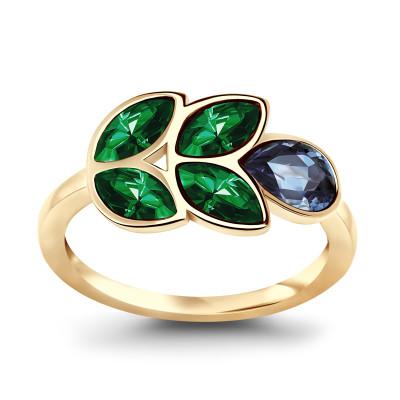 pierścionek-pozłacany-z-kryształami-pavoni-1