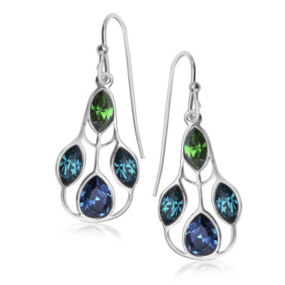 pavoni-kolczyki-srebrne-z-kryształami-swarovskiego-1