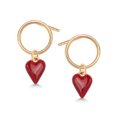 queen-of-hearts-kolczyki-srebrne-pokryte-złotem-1