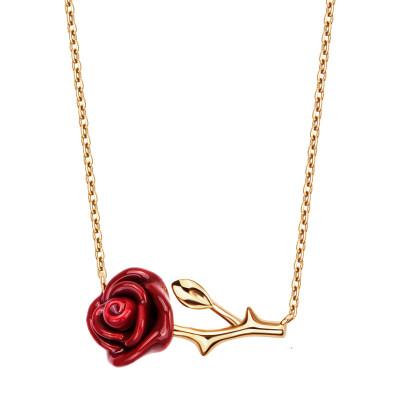 naszyjnik-pozłacany-z-emalią-róża-rosarium--1
