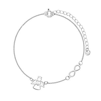 bransoletka-srebrna-anioł-1