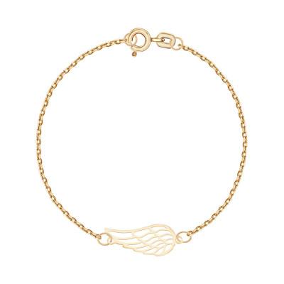 bransoletka-srebrna-pokryta-złotem-skrzydło-1