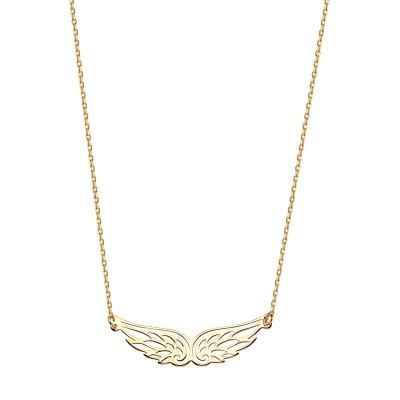 naszyjnik-srebrny-pokryty-złotem-skrzydło-1