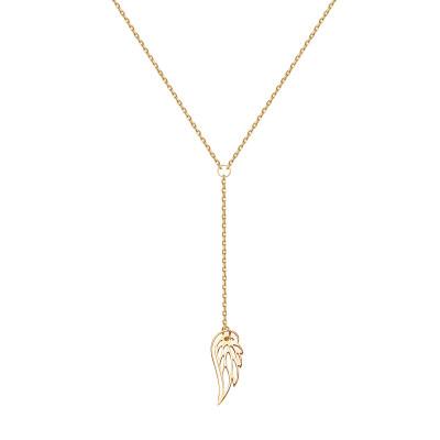naszyjnik-srebrny-pokryty-żółtym-złotem-skrzydło-1
