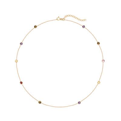 naszyjnik-srebrny-pokryty-żółtym-złotem-z-cyrkoniami-1