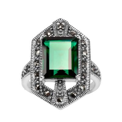 pierścionek-srebrny-z-markazytami-i-kwarcem-1