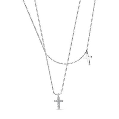 naszyjnik-srebrny-z-cyrkoniami-krzyżyk-unique-1