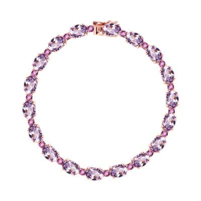 bransoletka-z-różowego-złota-z-rodolitami-i-ametystami-passion-1