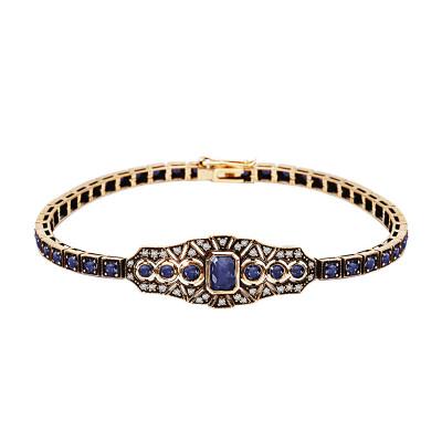 bransoletka-złota-z-diamentami-i-szafirami-kolekcja-wiktoriańska--1