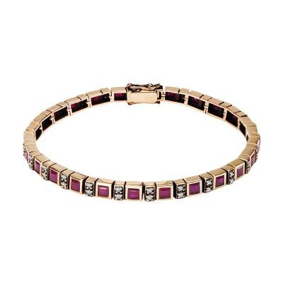 bransoletka-złota-z-rubinami-i-diamentami-kolekcja-wiktoriańska-1