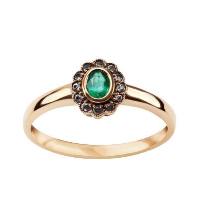 kolekcja-wiktoriańska-pierścionek-złoty-ze-szmaragdami-i-szafirami-1
