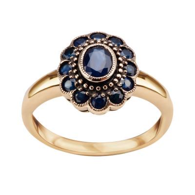 pierścionek-złoty-z-szafirami-kolekcja-wiktoriańska--1