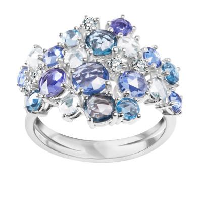 pierścionek-z-białego-złota-z-diamentami,-szafirami-i-topazami-1