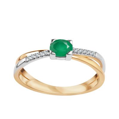 pierścionek-z-dwukolorowego-złota-z-diamentami-i-szmaragdem--1
