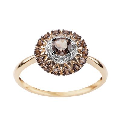 pierścionek-ze-złota-z-diamentami-i-kwarcem--1